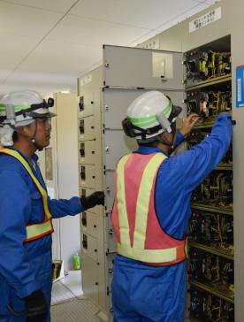 受配電設備の点検
