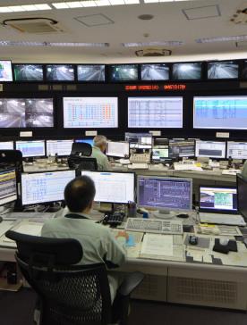施設設備の制御・監視(中央局)