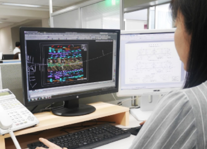 CAD図面の制作・更新