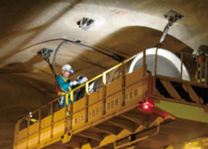 トンネルジェットファン整備